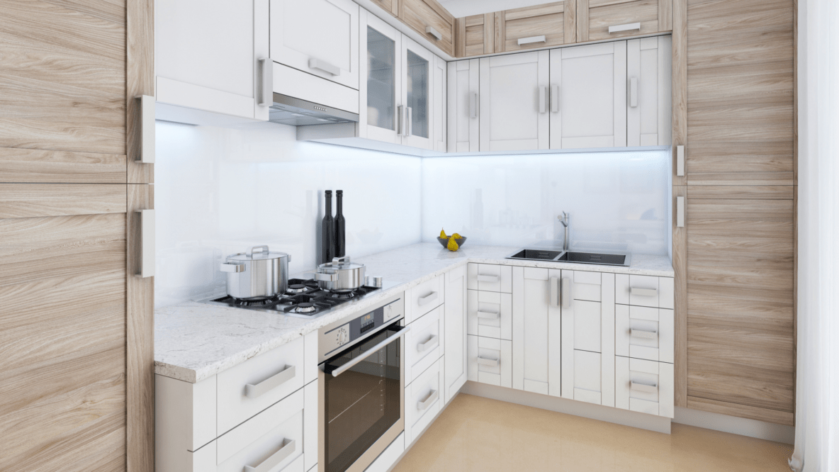 small kitchen space inspiration